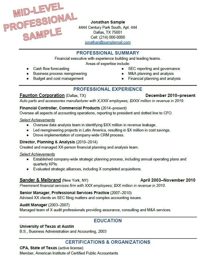 'The 3 Best Resumes I've Ever Seen