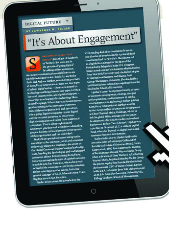It's About Engagment