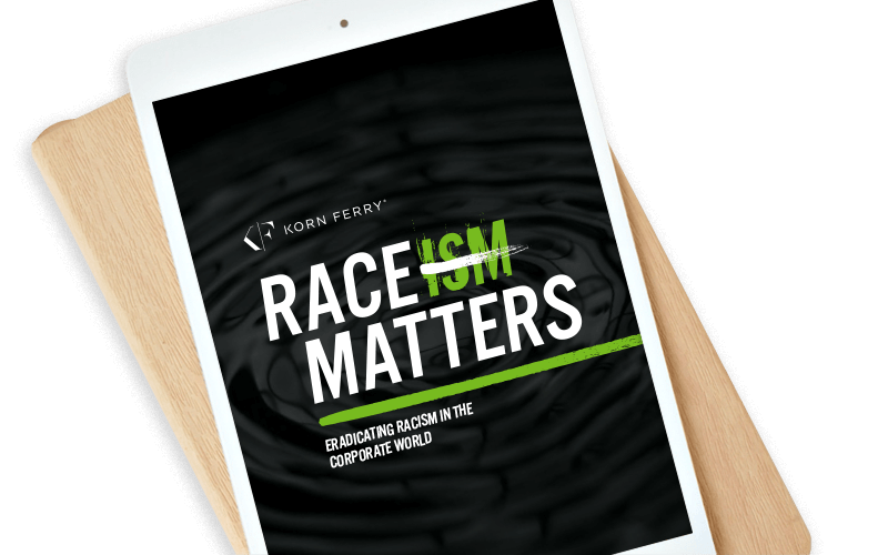 download the Korn Ferry race matters point of view